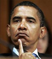 Obama vexed
